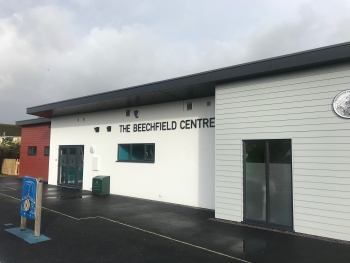 The exterior of the Beechfield Centre