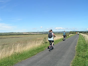 Cyclists on Tarka Trail