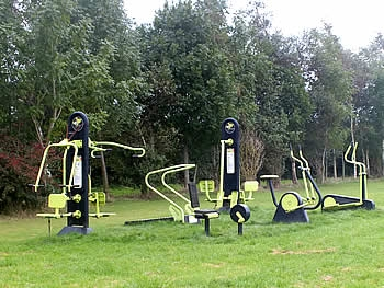 Exercise Equipment at Tews Lane