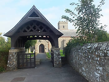 Entrance to St Peters Church, Fremington